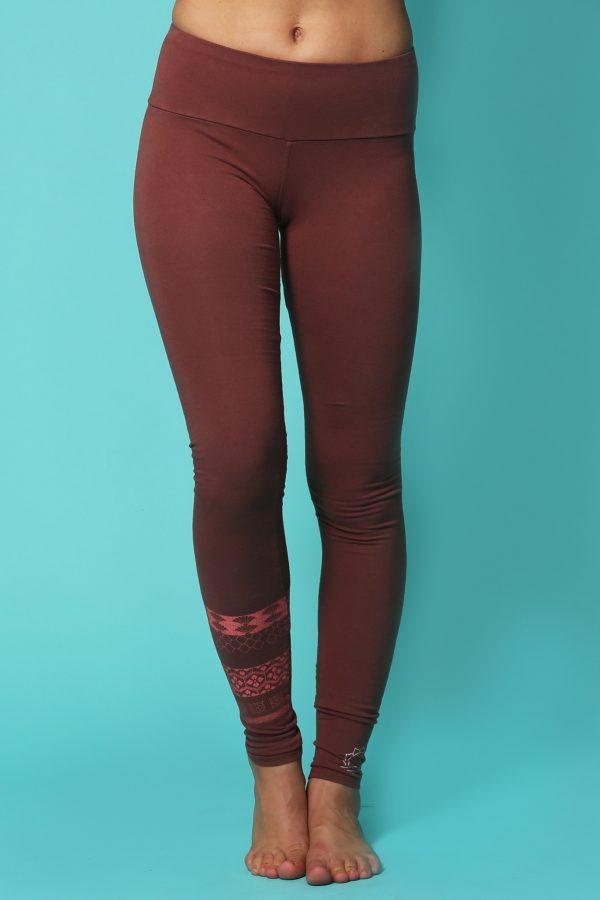 8487ba1820109 Irezumi Japanese Paper Organic Leggings | Symi Yoga