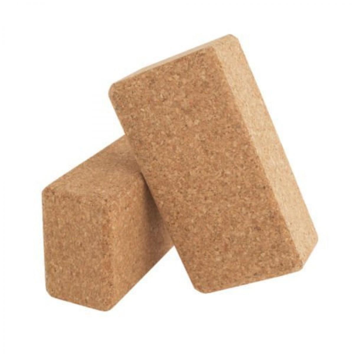 Symiyoga Natural Cork Yoga Blocks Symi Yoga